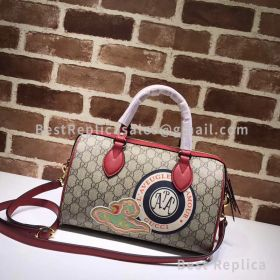 Gucci GG Small Top Handle Bag Red 409529