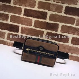 Gucci Ophidia Small Belt Bag Coffee 517076