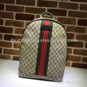 Gucci Soft GG Supreme Backpack Black 450958