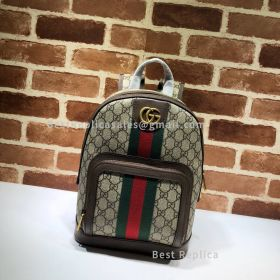 Gucci Ophidia GG Small Backpack Brown 547965