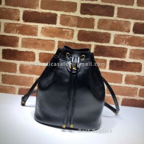 Gucci Medium Bucket Backpack Black 550189