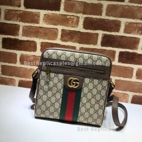 Gucci Ophidia GG Small Messenger Bag Brown 547926