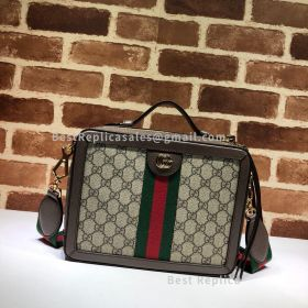 Gucci Ophidia Small GG Shoulder Bag Brown 550622