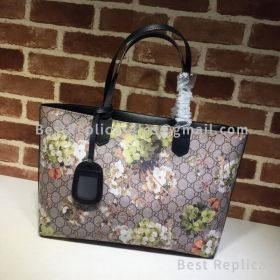 Gucci Reversible GG Blooms Medium Tote Green 368568
