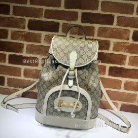Gucci Horsebit 1955 Backpack White 620849