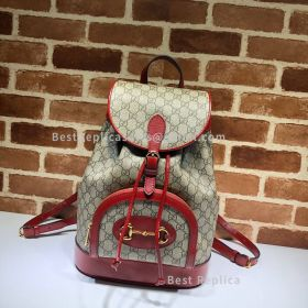 Gucci Horsebit 1955 Backpack Red 620849