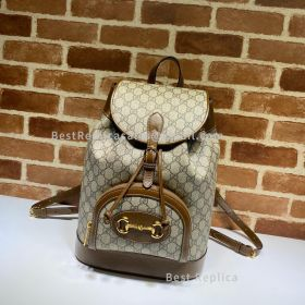 Gucci Horsebit 1955 Backpack Brown 620849