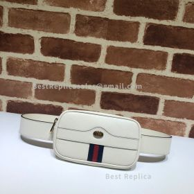 Gucci Ophidia GG Leather Belted Iphone Case White 519308