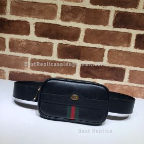 Gucci Ophidia GG Leather Belted Iphone Case Black 519308