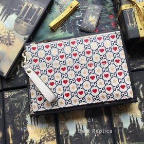 Gucci Chinese Valentine'S Day Exclusive Leather Pouch 573051