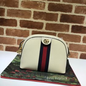 Gucci Ophidia Small Shoulder Bag White 499621