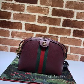 Gucci Ophidia Small Shoulder Bag Wine 499621
