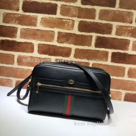 Gucci Ophidia GG Small Shoulder Bag Black 517080