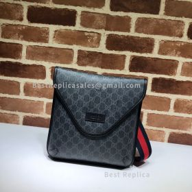 Gucci Neo Vintage GG Medium Black Messenger 598604