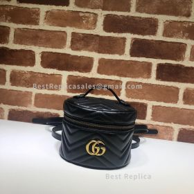 Gucci GG Marmont Mini Backpack Black 598594