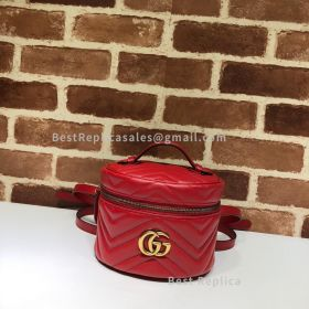 Gucci GG Marmont Mini Backpack Red 598594