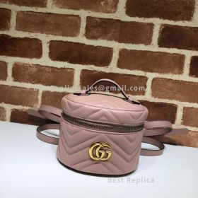 Gucci GG Marmont Mini Backpack Nude 598594