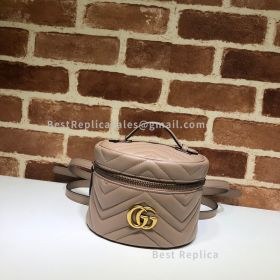 Gucci GG Marmont Mini Backpack Dust Pink 598594