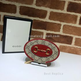 Gucci Horsebit 1955 Coin Case Red 622040