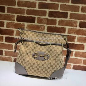 Gucci Gucci 1955 Horsebit Canvas Messenger Bag 602089