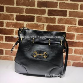 Gucci Gucci 1955 Horsebit Messenger Bag Black 602089