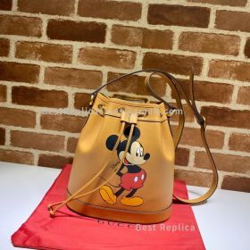 Gucci Disney X Gucci Small Leather Bucket Bag 602691
