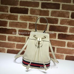 Gucci Ophidia Small Bucket Bag White 610846