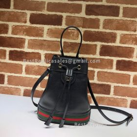 Gucci Ophidia Small Bucket Bag Black 610846