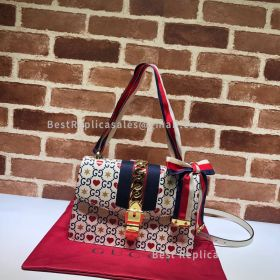 Gucci Chinese Valentine'S Day Sylvie Small Shoulder Bag 524405