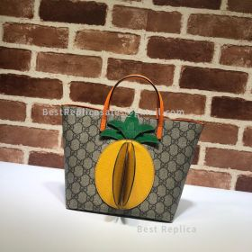 Gucci Children's GG Tote With Pineapple 580840