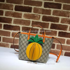 Gucci Children's Tote With Pineapple 585933