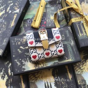 Gucci Chinese Valentine's Day Exclusive Sylvie Wallet 476081