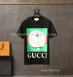 Doraemon Gucci cotton T-shirt