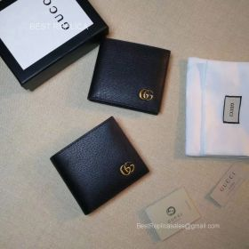 Gucci GG Marmont leather bi-fold wallet 428726 211493