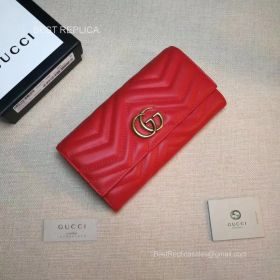 Gucci GG Marmont python continental wallet 443436 211542