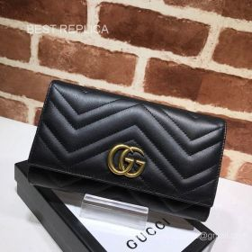 Gucci GG Marmont python continental wallet 443436 211543