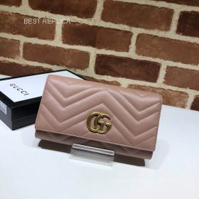 Gucci GG Marmont python continental wallet 443436 211544