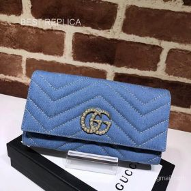 Gucci GG Marmont python continental wallet 443436 211545