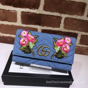Gucci GG Marmont python continental wallet 443436 211546