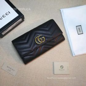 Gucci GG Marmont python continental wallet 443436 211547
