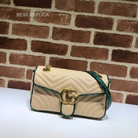 Gucci Online Exclusive GG Marmont small bag 443497 211553