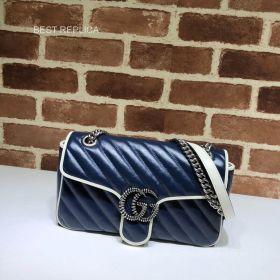 Gucci Online Exclusive GG Marmont small bag 443497 211556