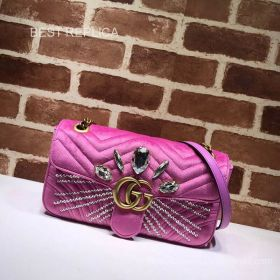 Gucci Online Exclusive GG Marmont small bag 443497 211559