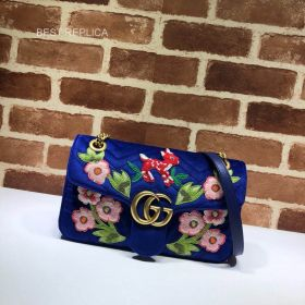 Gucci Online Exclusive GG Marmont small bag 443497 211561