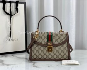 Gucci Ophidia small top handle bag with Web 651055 213485