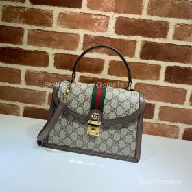 Gucci Ophidia small top handle bag with Web 651055 213486