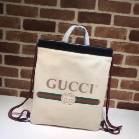 Gucci Coco Capitán Logo Backpack White 494053  Collection
