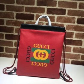 Gucci Coco Capitán Logo Backpack Red 494053  Collection